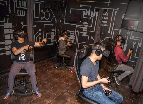 Virtual Reality Escape Room